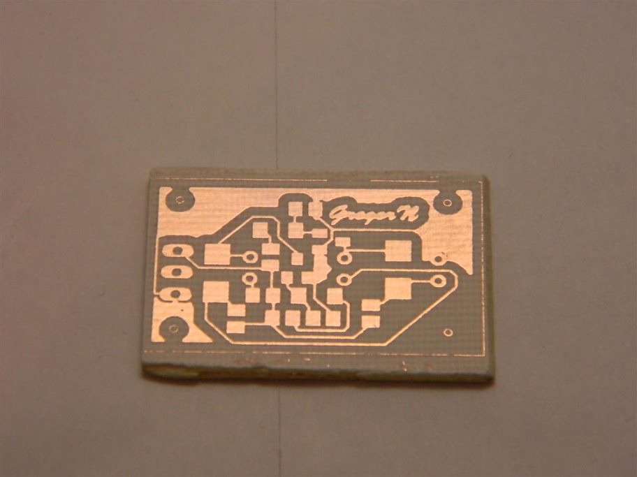 Finishing PCB