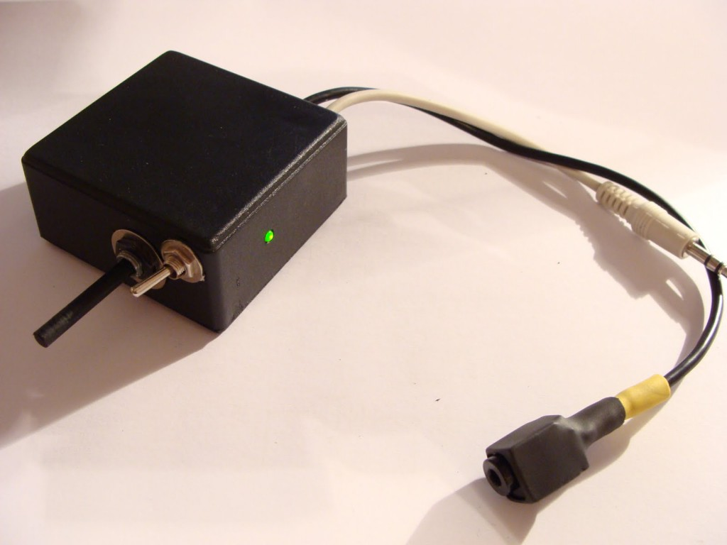 Battery-Microphone Amplifier